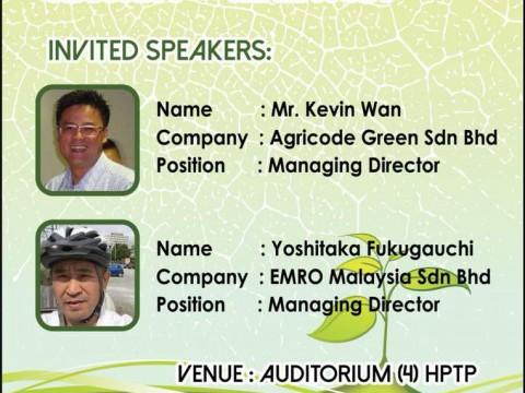 Seminar Way Forward of Biotic Farming for Food Security in Malaysia