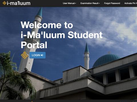 Students' Portal i-Ma'luum