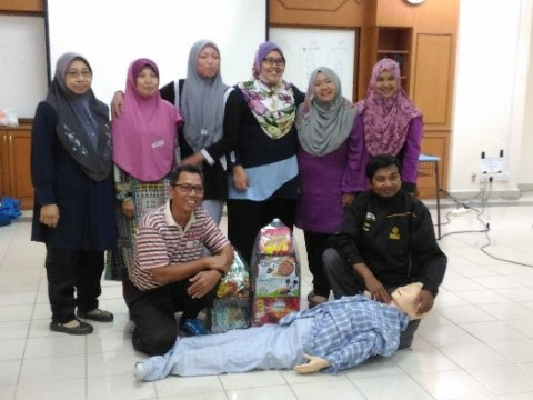 SHARING SESSION ON FIRST AID AND CARDIO PULMONARY RESUSCITATION COURSE (BOFA-C)
