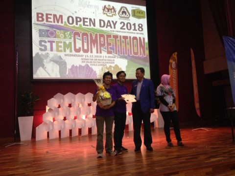 BEM OPEN DAY COMPETITION 2018 - 5th December 2018