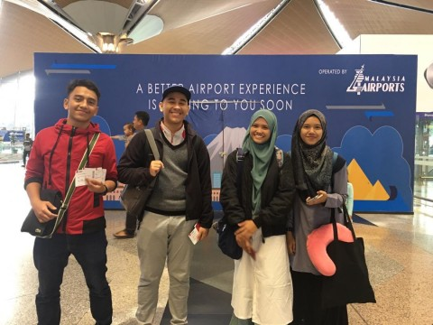 Five KLM students participated in Students Exchange Program in University Nizwa, Sultanate of Oman