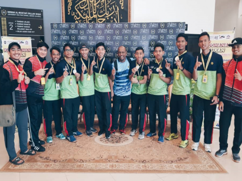 CONGRATULATIONS! CFS IIUM MEN'S VOLLEYBALL TEAM SCORED GOLD MEDAL