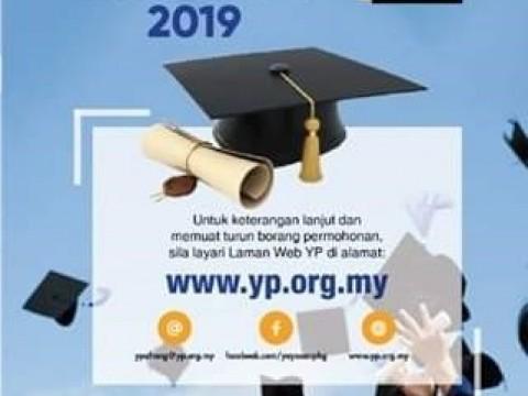 NOTICE ON BIASISWA PENDIDIKAN YAYASAN  PAHANG 2019
