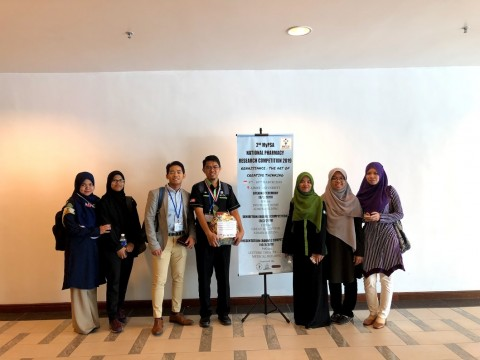 IIUM Pharmacy Students Team Won 1st Place in 5th MyPSA National Pharmacy Debate Competition (NPDC) 2018