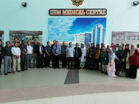 VISIT TO IIUM KUANTAN CAMPUS, KUANTAN FOR A DISCUSSION ON RESEARCH COLLABORATION