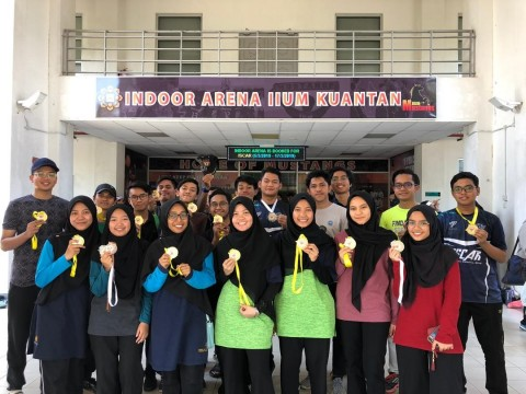 Closing Ceremony of IIUM Kuantan Sports Carnival 2019