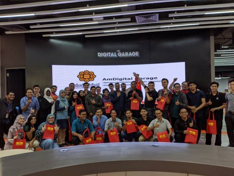 Career Visit to AmDigital Garage