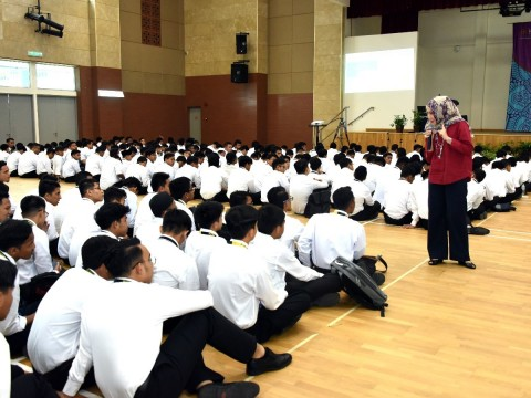Academic Briefing to New Students of Ta'aruf Programme 2019 at the Centre For Foundation Studies, Gambang Campus , IIUM