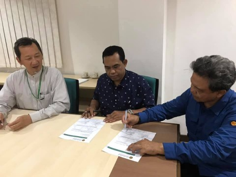 Letter of Intent (LOI) Signing Between INHART and Universitas Batik Islam Surakarta Indonesia (UNIBA)