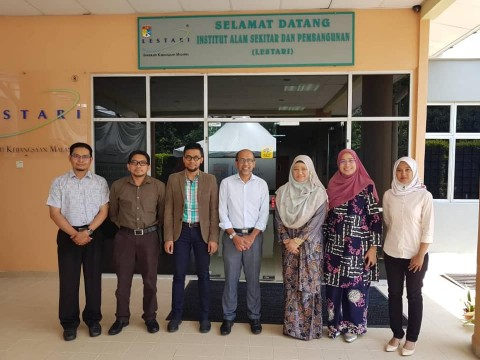 Research Meeting with Lestari UKM