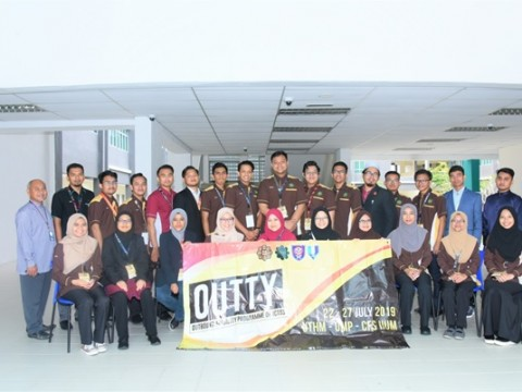 Visit by ICT Student Society to CFS Gambang Campus.