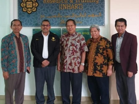 Visit by Dean and Deputy Dean of Agriculture Faculty, University Riau, Indonesia