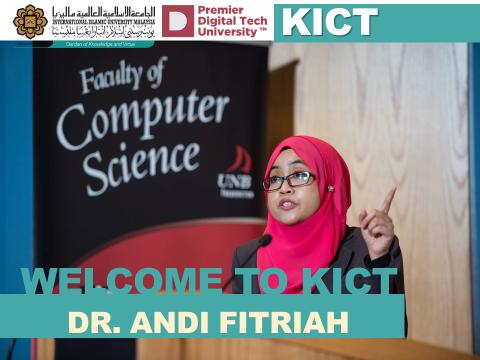 Welcome Dr. Andi Fitriah Abdul Kadir