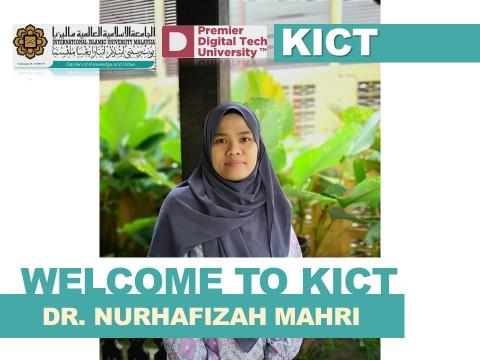 Welcome Dr. Nurhafizah Mahri