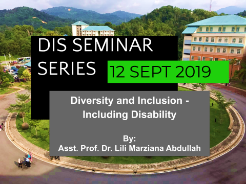 DIS Seminar Series 12 SEPT 19