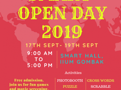 OPEN DAY SMART SEM 1, 2019/2020