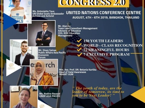 Representing INHART for Youth Congress
