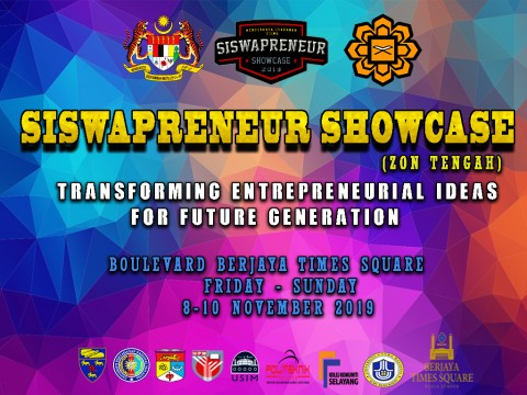 SISWAPRENEUR SHOWCASE SERIES 4 2019 (ZON TENGAH)