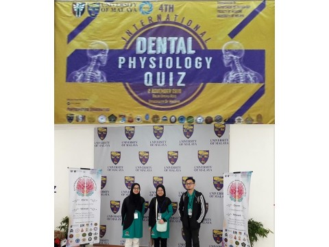 KOD Students Participation in 4th International Dental Physiology Quiz
