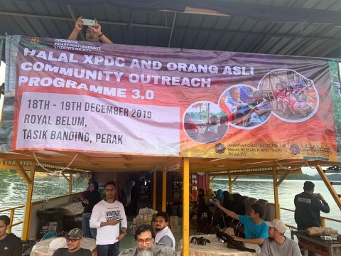 ​Halal XPDC and Orang Asli Community Outreach Programme 3.0