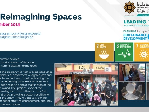 CSR: Reimagining Spaces