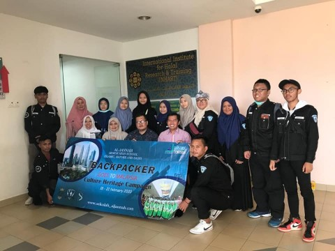 Educational visit from High School of Aljannah Jakarta Indonesia