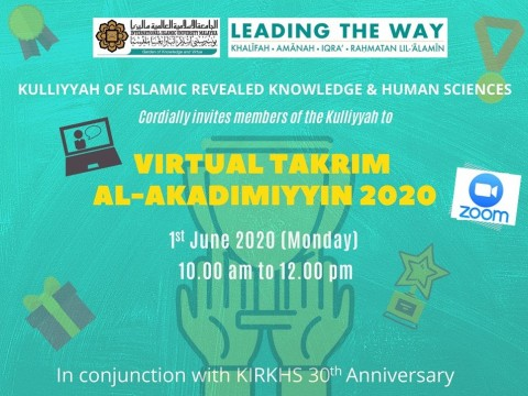 DEANERY ADDRESS AT KIRKHS TAKRIM AL-AKADIMIYYIN 2020