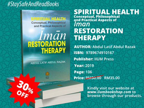 OFFER!!! : SPIRITUAL HEALTH: Conceptual, Philosophical & Practical Aspect of Iman RESTORATION THERAPY