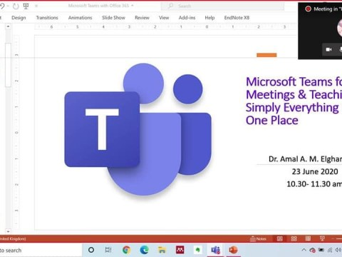 Training: Microsoft Teams for Meetings & Teaching: Simply Everything in One Place