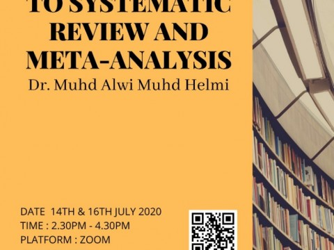 KOM Workshop - Introduction to Systematic Review & Meta-Analysis