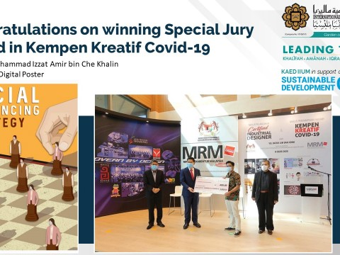 Congratulations on winning Special Jury Award in Kempen Kreatif Covid-19