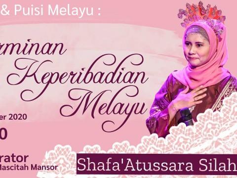 CiTRA BUDAYA : Facebook Live! with Shafa'Atussara Silahudin