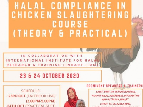 HALAL  COMPLIANCE IN CHICKEN SLAUTHERING COURSE
