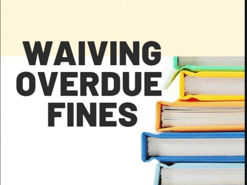WAIVING OVERDUE BOOKS' FINES