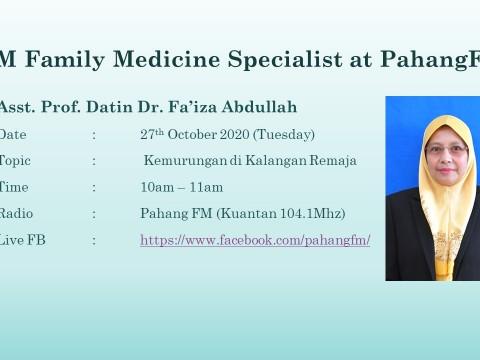 """Segment Doktor di Radio PahangFM"""