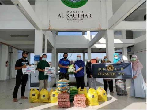 Funds from alumni in aid of community in Sabah