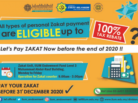 Let's Pay Zakat Before the end of the year 2020