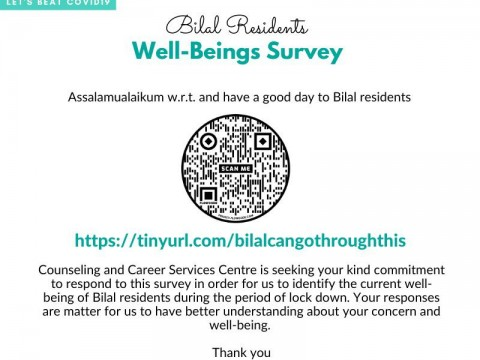 BILAL RESIDENTS WELL-BEING SURVEY