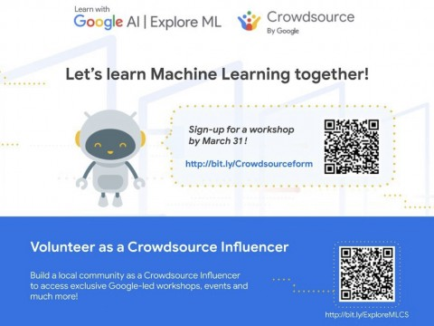 Google ExploreML with Crowdsource : Let's Learn Machine Learning Together!
