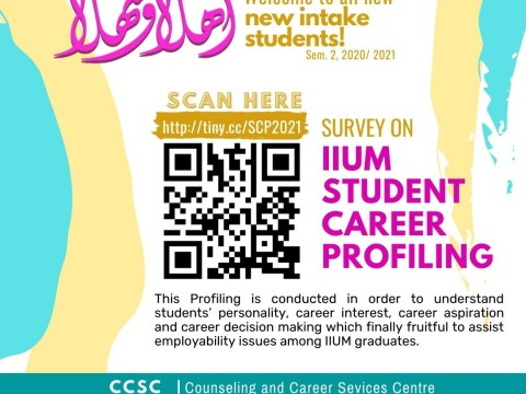 Survey on IIUM Student Career Profiling