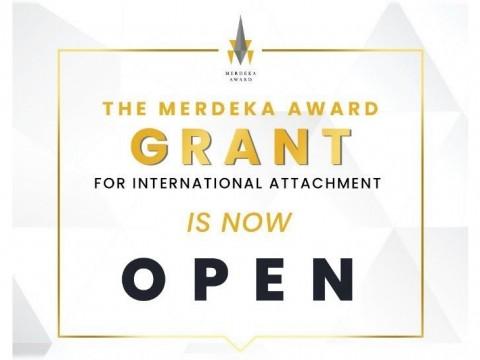 Deadline : 3 May 2021, Apply for the 2021 Merdeka Award Grant for International Attachment Now!