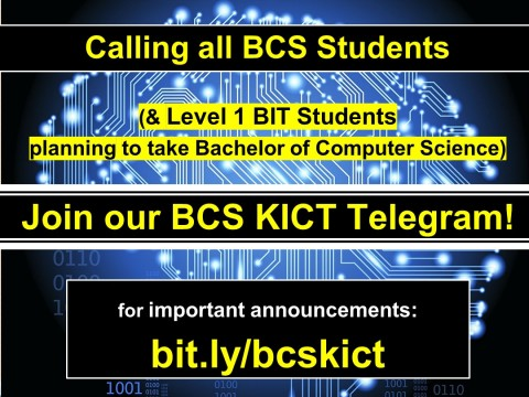 Join our BCS KICT Telegram