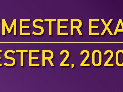 END OF SEMESTER EXAMINATION, SEMESTER 2, 2020/2021