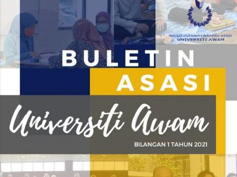 FIRST PUBLICATION OF BULETIN ASASI UNIVERSITI AWAM 1/ 2021