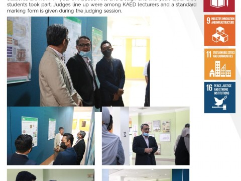AAD WEEK – FYP Design Thesis Poster Competition