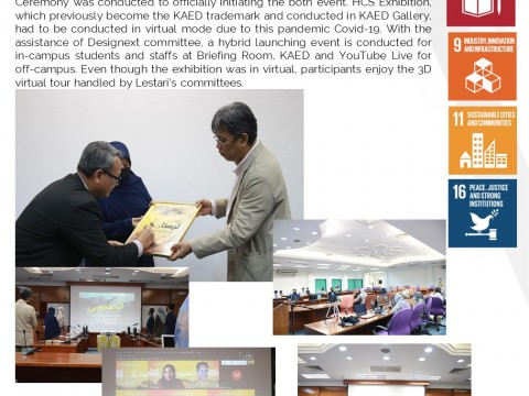 15th Heritage & Contemporary Studies (LESTARI) & AAD WEEK 2021 Launch Ceremony
