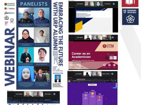 Webinar: Embracing the future with URP alumni