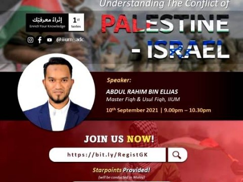 LIVE TALK : UNDERSYANDING THE CONFLICT OF PALESTINE-ISRAEL