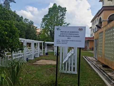 Kebuniti Project Sponsored by Jabatan Pertanian