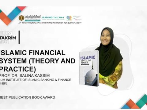 27th July 2021- IIUM Takrim 2021 Congratulations Prof. Dr. Salina Hj Kassim on the Best Publication Book Award